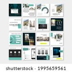 social media pack posts for...   Shutterstock .eps vector #1995659561
