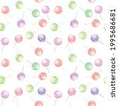 lolly pops cute seamless...   Shutterstock .eps vector #1995686681