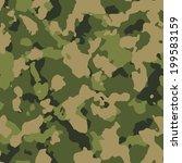 green woodland seamless camo... | Shutterstock . vector #199583159