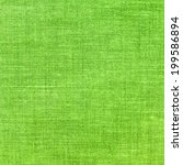 green textile background. | Shutterstock . vector #199586894