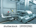 Engine Room With Vent Tubing