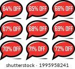 64  off  65   66   67   68   69 ... | Shutterstock .eps vector #1995958241