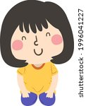 illustration of a kid girl in a ...   Shutterstock .eps vector #1996041227
