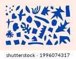 inspired matisse geometric and... | Shutterstock .eps vector #1996074317