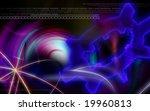 digital illustration of power... | Shutterstock . vector #19960813