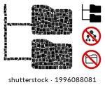 mosaic category folder tree...   Shutterstock .eps vector #1996088081