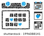 collage favourite days icon...   Shutterstock .eps vector #1996088141