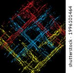 graphic design vector art on... | Shutterstock .eps vector #1996101464
