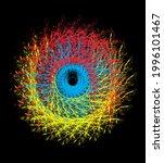 graphic design vector art on... | Shutterstock .eps vector #1996101467