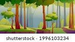 cartoon forest background ...