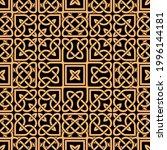 celtic seamless pattern....   Shutterstock .eps vector #1996144181