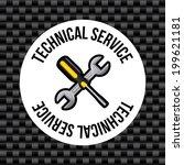 tools design over gray...   Shutterstock .eps vector #199621181