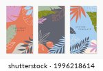 set of insta story templates... | Shutterstock .eps vector #1996218614