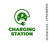 electrical vehicle charging...   Shutterstock .eps vector #1996388504