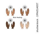 line art illustration of hand...   Shutterstock .eps vector #1996514057