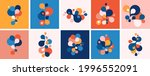 set of abstract modern graphic... | Shutterstock .eps vector #1996552091