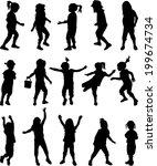 childrens  | Shutterstock .eps vector #199674734