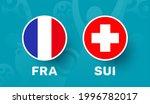 france vs switzerland match... | Shutterstock .eps vector #1996782017