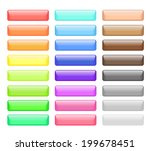 set of colored web buttons.... | Shutterstock . vector #199678451