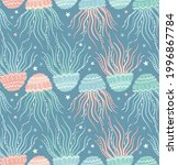seamless vector pattern with... | Shutterstock .eps vector #1996867784