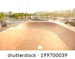 modern skatepark  | Shutterstock . vector #199700039