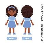 Funny Afro Black Girl In Dress...