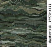 camouflage dark underbrush wood ... | Shutterstock . vector #1997046611