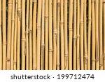 Background Of Bamboo Cane...
