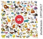 100 Vector Bright Color Cartoon ...