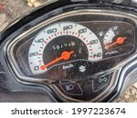 Suzuki Motorcycle Speedometer...