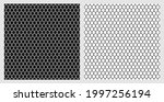 seamless cage. grill. mesh....   Shutterstock .eps vector #1997256194