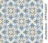 vector patterns set. seamless... | Shutterstock .eps vector #1997416037