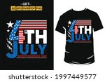 4th of july  usa independence... | Shutterstock .eps vector #1997449577