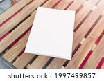 mockup template of paper book...   Shutterstock . vector #1997499857