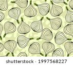 delicious hand drawn vector...   Shutterstock .eps vector #1997568227
