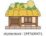 a choga house. choga denotes... | Shutterstock .eps vector #1997630471