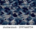 seamless urban camouflage... | Shutterstock .eps vector #1997668754