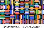 abstract geometric vector... | Shutterstock .eps vector #1997690384