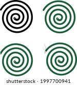 mosquito repellent coil icon on ... | Shutterstock .eps vector #1997700941