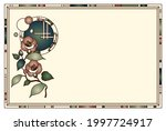 snow and camellia vector... | Shutterstock .eps vector #1997724917