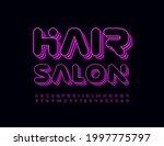 vector modern logo hair salon.... | Shutterstock .eps vector #1997775797