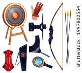 archery equipment or sport... | Shutterstock .eps vector #1997802554