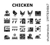 chicken meat factory collection ... | Shutterstock .eps vector #1997834867