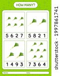 how many counting game with... | Shutterstock .eps vector #1997861741