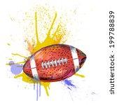 football | Shutterstock .eps vector #199788839