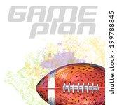 football | Shutterstock .eps vector #199788845
