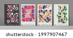 abstract geometric patterns. a... | Shutterstock .eps vector #1997907467