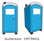 addition,bathroom,blue,construction,door,front,home,illustration,industrial,isolated,john,lavatory,loo,mobile,outhouse