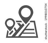 monochrome simple destination... | Shutterstock .eps vector #1998010754