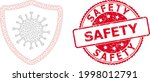 safety rubber seal print and... | Shutterstock .eps vector #1998012791